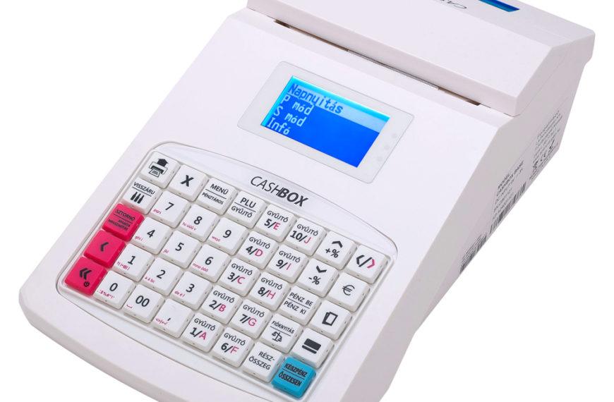 CashBox base / fehér online pénztárgép