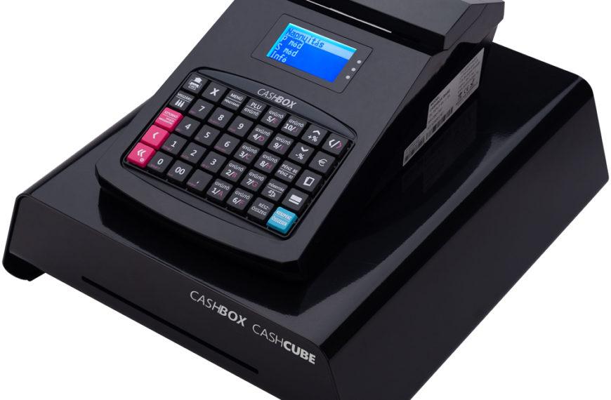 CashBox base / kasszás fekete online pénztárgép