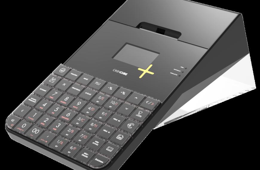 CashCube Light + / Fekete online pénztárgép