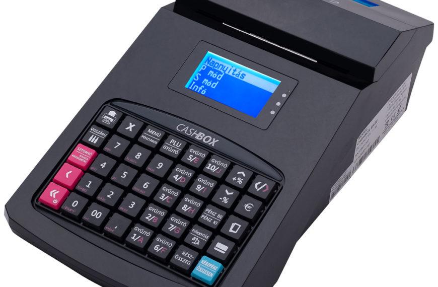 CashBox base / fekete online pénztárgép